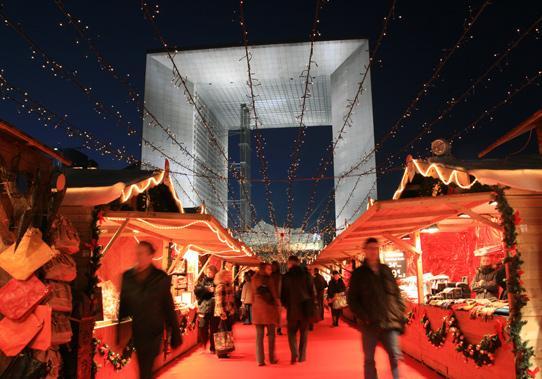 Marché de Noel de la Défense