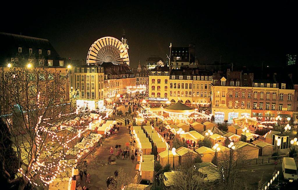 Marché de Noel de Lille