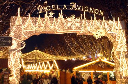 Marché de Noel d'Avignon