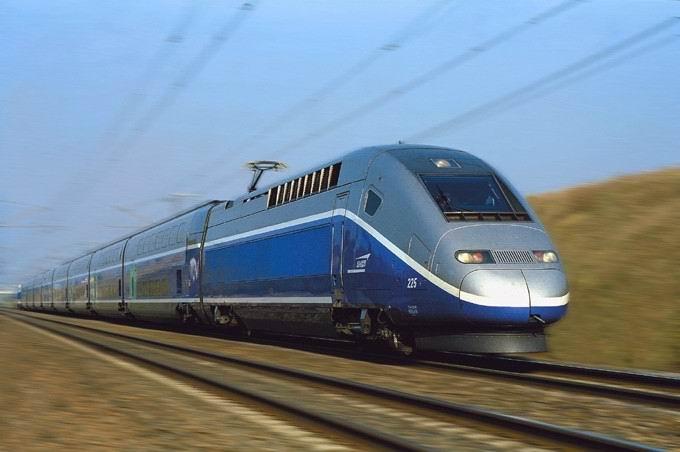 Train à grande vitesse français