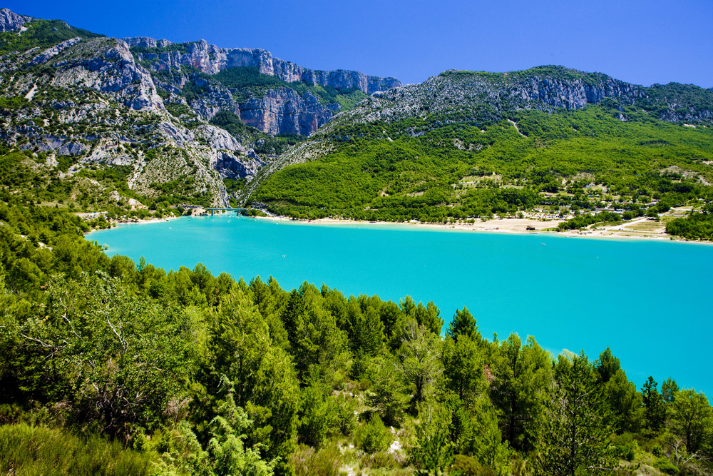 Le verdon merveille de france visiter la france - Camping lac st croix avec piscine ...
